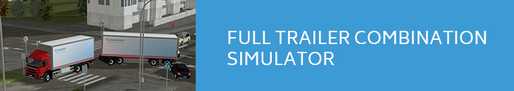 full trailer combination simulator link